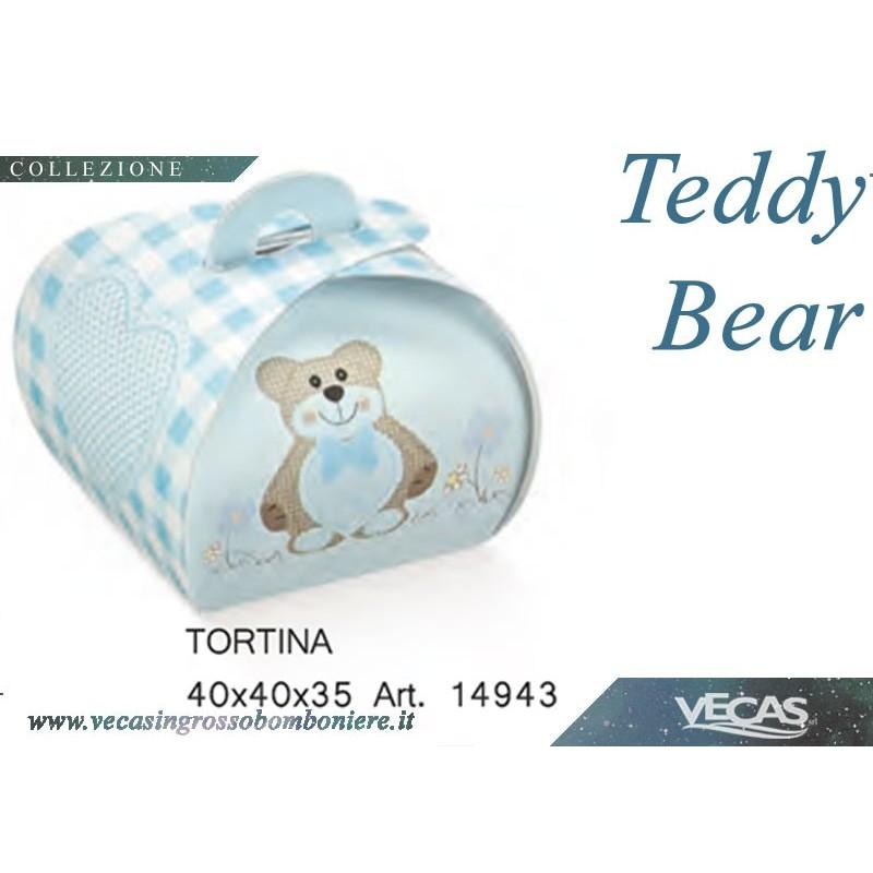TORTINA 40X40X35 TED.BEAR