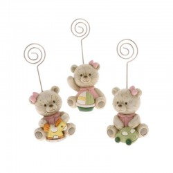 BABY WOOD CLIP CM 10 S/3 ROSA      6/144