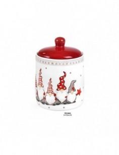 Biscottiera ceramica GNOMI...