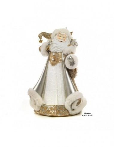 Babbo Natale vestito oro